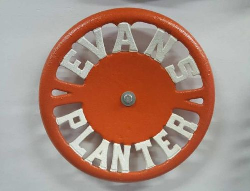 Evans Planter Cast Iron Seat